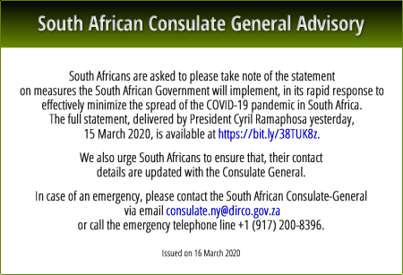 Official Website Of The South African Consulate General